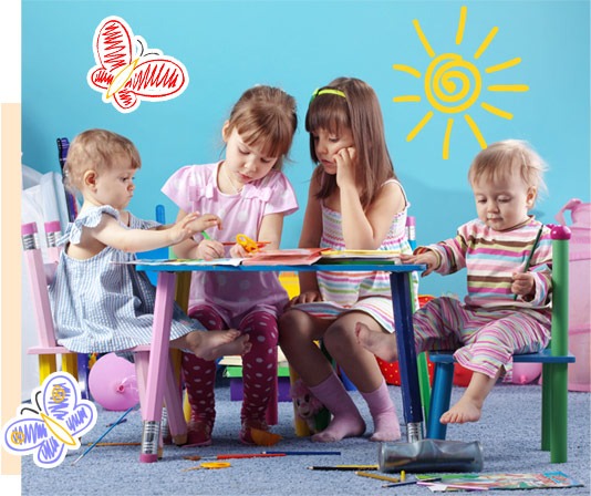 Childcare and education to young children